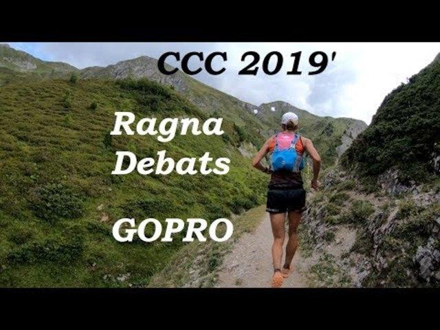 GoPro videó: az UTMB versenyek közé tartozó CCC (101 km + 6100 m) női győztese, Ragna Debats mögött futottam, videóztam 5 percig