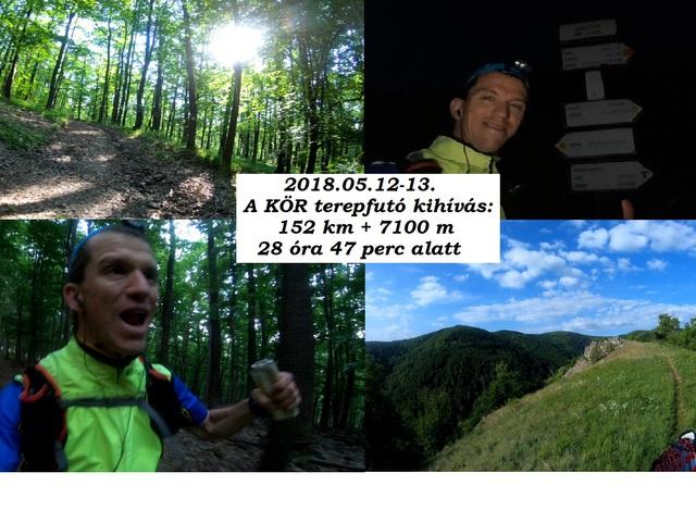 2018.05.12. A KÖR 152 km + 7100 m szint terepfutás a Börzsönyben (1.): újabb bakancslistás álmom valóra váltása