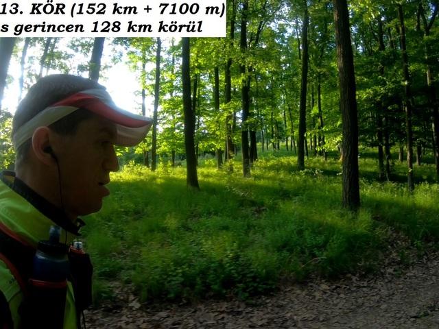2018.05.12. A KÖR 152 km + 7100 m szint terepfutás a Börzsönyben (2): az utolsó 28 km