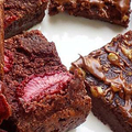 Vegán, cukormentes, gluténmentes brownie kockák