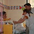 A Gyulai Gyermekkórház intenzív osztályán viziteltünk