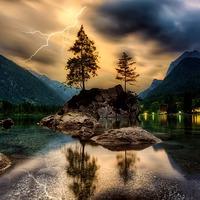 Vihar előtt...