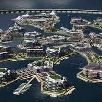 Város épül a tengeren szabályozatlan kutatásokért