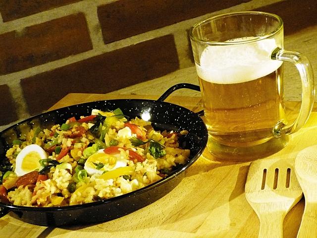 Színes, ízes, rizses egytál