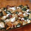 Spenótos rakott krumpli