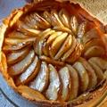 Fényezett almatorta