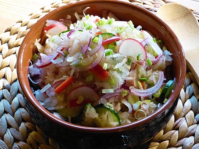 Tavaszváró saláta