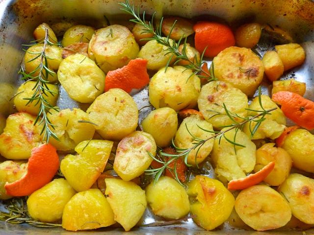 Pompás rozmaringos-narancsos krumpli