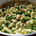 Villámgyors zöldséges tészta