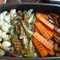 Sült zöldségköret
