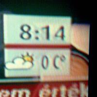 A tévé hőmérséklete