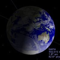 Szilveszterkor a Naprendszer