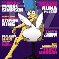 Marge Simpson a Playboyban