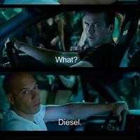 My car runs with Diesel
