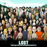 Lost cartoon poszter
