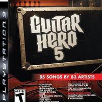 Guitar Hero 5 borító