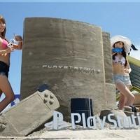 PlayStation homokvár