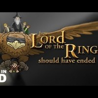 How Should have ended? Lord of the rings