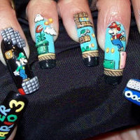 Geekest Nails Ever