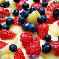 Gyors réteges krém finom gyümölcsökkel