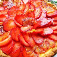 Epres-narancsos tarte