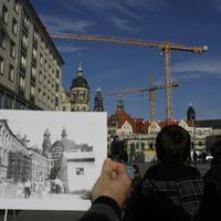 Az újjá- és újjáépülő Drezda