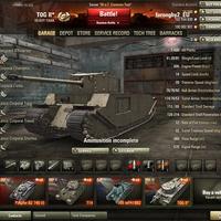 TOG II* tier 6-os angol heavy prémium tank