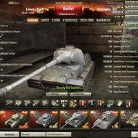 Löwe: Német tier 8-as prémium tank.