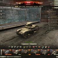 T1E6 Amerikai tier 2-es könnyű prémium tank