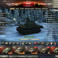 Panther-M10 Tier 7-es német prémium tank
