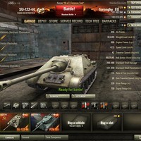 SU-122-44 Orosz tier 7-es prémium TD