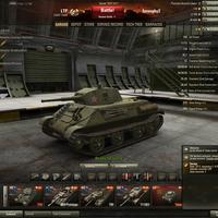 LTP: Orosz tier 3-as könnyű prémium tank