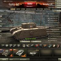 Excelsior Angol tier 5-ös heavy prémium tank