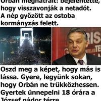 Orbán Viktor és az internetadó pávatánca