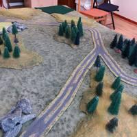 Ellenlökés az erdőben, Bolt Action csatajelentés
