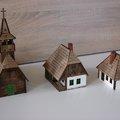 Alternative Toys Workshop Székely házak és templom építése, 28mm