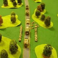 Az erdei konvoj, Orosz polgárháború, Mud and Blood csata