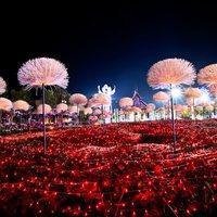 Képzelet kertje 2 millió égőből