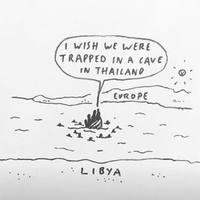 Barlangba szorult thai gyereket vagy líbiai menekültet kell-e inkább menteni?