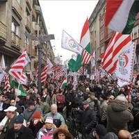 Tüntetés a Jobbikkal és a nacionalizmus funkciója a sikeres Magyarországon