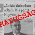 A nokiás doboz interjú is fideszes utasításra jelent meg a Magyar Nemzetben?