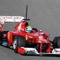 Impotens Ferrarik a pályán