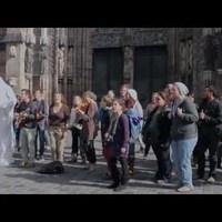 zenész flashmob!