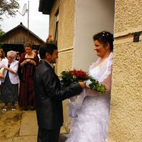 esküvőt ünnepeltünk.