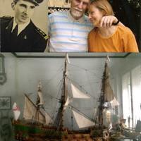 Száz éve született Farkas Vincze hajóskapitány
