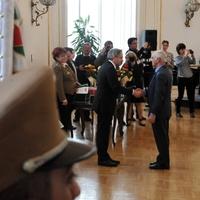 Bicskei János miniszteri elismerése