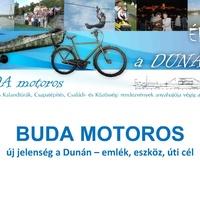 Prezentáció a BUDA motoros hasznosításának koncepciójáról