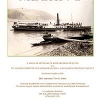 Kiállításunk a Közlekedési Múzeumban