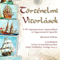 Kiállításunk történelmi vitorlásokról