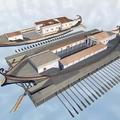 Történelmi regény Caligula császár Nemi-tavi hajóiról